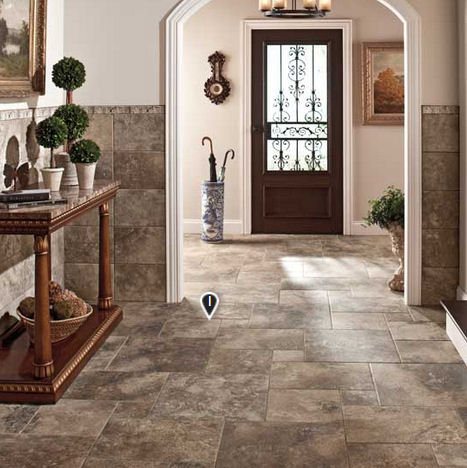 Hallway Entry Way Tile